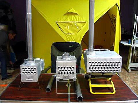 Теплообменник для палатки